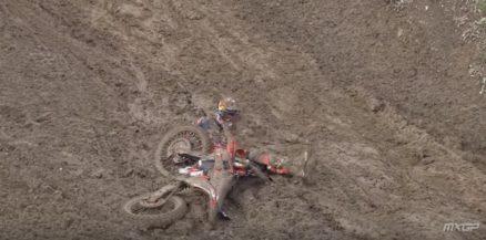Vídeo Cassetada da 10a etapa do Mundial de Motocross 2017