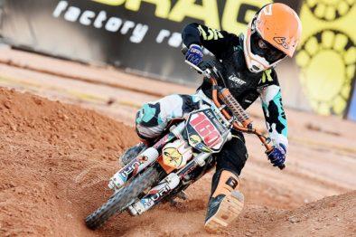 Felipe de Menezes vence mais uma vez na 50cc no Brasileiro de Motocross