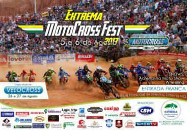 Programação da 3ª etapa Brasileiro de Motocross em Extrema (MG)