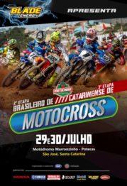 Santa Catarina recebe rodada do Brasileiro de Motocross neste fim de semana