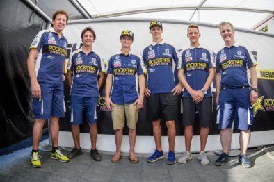 Thomas Covington e Thomas Kjer- Olsen renovam com a Rockstar Energy Husqvarna