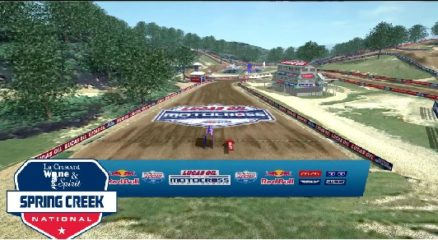 Volta virtual AMA Motocross 2017 em Spring Creek