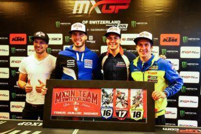 Suíça anuncia equipe do MXoN 2017