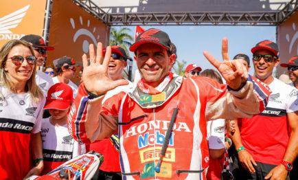 Jean Azevedo conquista sétimo título no Rally dos Sertões