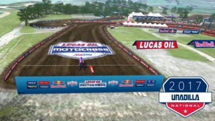 Volta virtual AMA Motocross 2017 em Unadilla