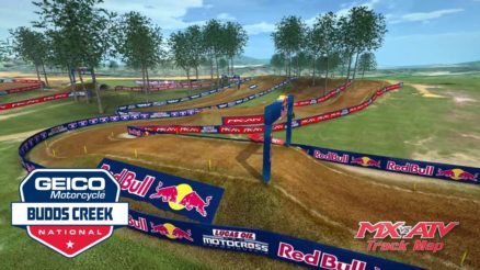 Volta virtual AMA Motocross 2017 em Budds Creek