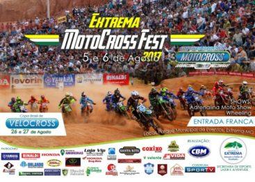 Extrema/MG recebe a 3ª Etapa do BR de Motocross dias 5 e 6 de agosto