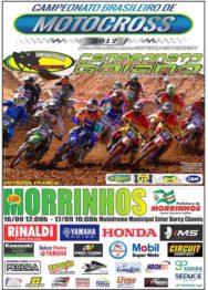 Morrinhos (GO) recebe 4ª Etapa do Brasileiro de Motocross
