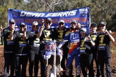 Resultados da 9a etapa do Australiano de Motocross 2017