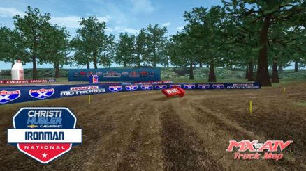 Volta virtual AMA Motocross 2017 em Ironman