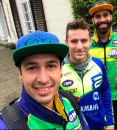 Bastidores do Brasil na preparação para o Motocross das Nações