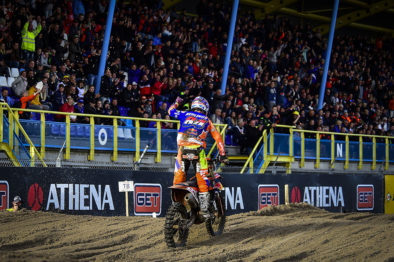 Resultados das classificatórias da 18a etapa do Mundial de Motocross 2017