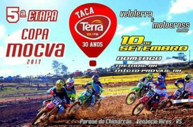 O Parque do Chimarrão será o palco da Taça Terra FM de veloterra