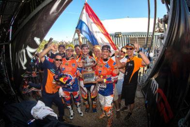 Equipe holandesa se preparando para o Nações 2017