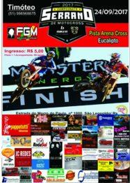 Serrano de Motocross acontece domingo em São Leopoldo no Arena Cross Eucalipto