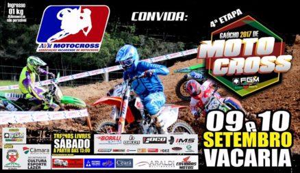 Vacaria recebe nesse final de semana o Gaúcho de Motocross