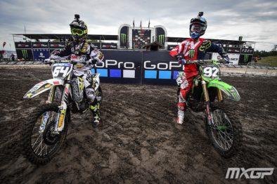 De carona com Covington e Cianciarulo pela 17a etapa do Mundial de Motocross 2017