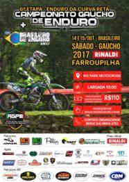 Brasileiro de Enduro FIM: Farroupilha (RS) recebe a grande final
