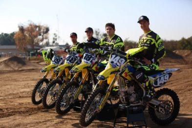 Nova equipe da Suzuki para 2018