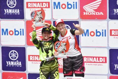 Maiara Basso conquista o tricampeonato na MXF
