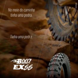 Com a linha de pneus Borilli B007 Infinity você deixa os obstáculos para trás