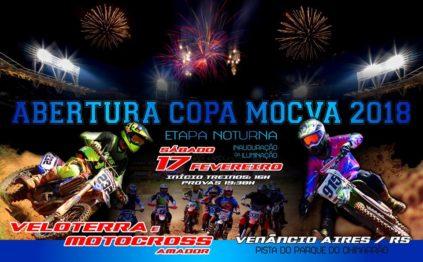 Copa MOCVA entra no mês da abertura