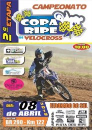Copa Ripe de velocross tem 2ª etapa em Eldorado do Sul no começo de abril