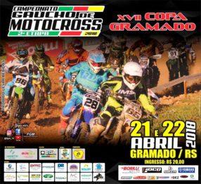 Gramado tem Gaúcho e Copa Gramado de Motocross no final de semana