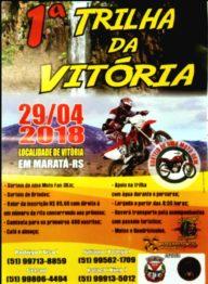 Domingo tem a primeira Trilha da Vitória em Maratá