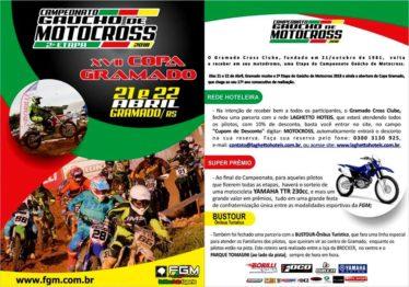 Super prêmios no Gaúcho de Motocross 2018