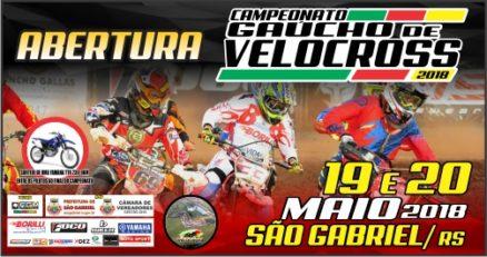 Abertura do Gaúcho de Velocross acontece em São Gabriel no final de semana