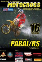 O Regional de Motocross volta a Paraí no domingo