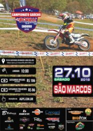 Borilli Gaúcho de Enduro tem etapa sábado em São Marcos