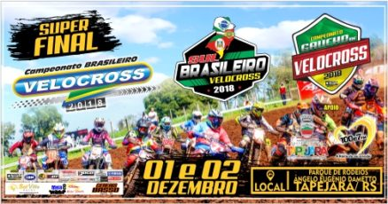 Final tripla de velocross domingo em Tapejara