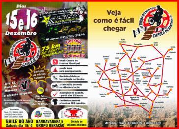 Tudo organizado pelo MotoCap para a 1ª Trilha do Mata Burro no domingo dia 16