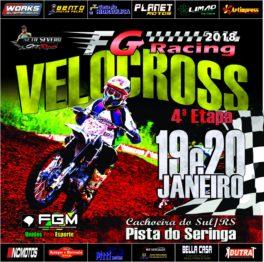 FG Racing de velocross é domingo em Cachoeira do Sul
