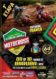 Gaúcho de Motocross abre em 9 e 10 de março