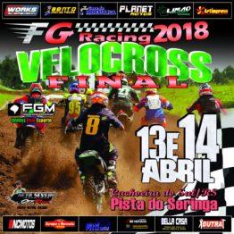 Final da Copa FG de Velocross em Cachoeira do Sul acontece neste domingo