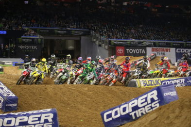 Resultados da 13a etapa do AMA Supercross 2019 em Houston