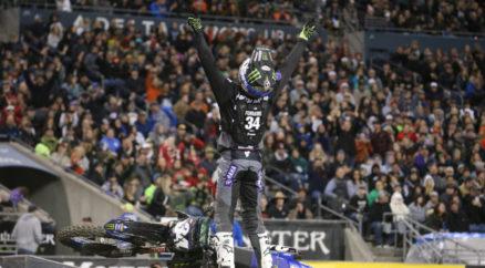 Resultados da 12a etapa do AMA Supercross 2019 em Seattle