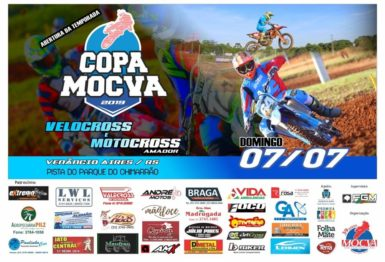 Vem ai a abertura da Copa MOCVA de Veloterra e Motocross amador dia 7 de julho