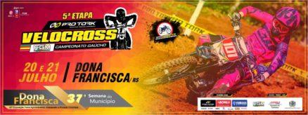 Pro Tork de Velocross chega a 5ª etapa em Dona Francisca no RS