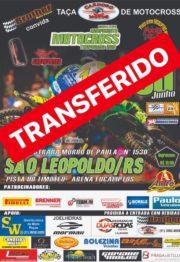 Motocross de São Leopoldo transferido para dia 7 de julho