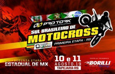 CT Borilli em Tapejara recebe a nata do Motocross do sul do país no próximo final de semana