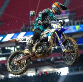 Enzo Lopes é o 5º no Americano de Supercross 250 Costa Leste 2020