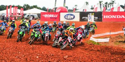 Equipe Honda é destaque em várias categorias na abertura do Brasileiro de MX