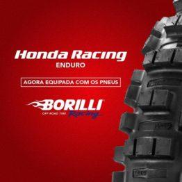 Borilli racing patrocinará equipe Honda de Enduro