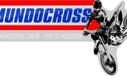 logo V3 mundocross 2013 com moto site slogan branco