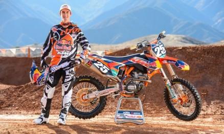 Vídeo – Musquin se preparando para o AMA Motocross