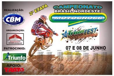 Triunfo recebe a 2ª etapa do Brasil Nordeste de MX neste final de semana